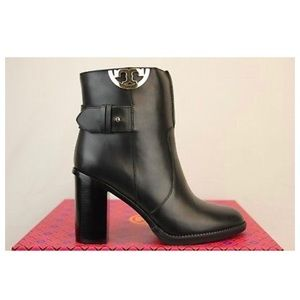 Tory Burch Sidney 85mm Bootie Calf Leather